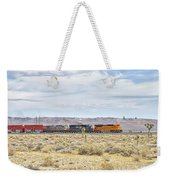 Bnsf 9112 Westbound From Boron Weekender Tote Bag
