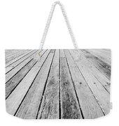 Boardwalk Of Distance Weekender Tote Bag