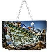 Boat Forever Dry Docked Weekender Tote Bag