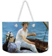 Boating Weekender Tote Bag by Edouard Manet