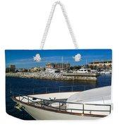 Boats In Port Weekender Tote Bag