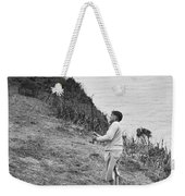 Bobby Jones At Pebble Beach Weekender Tote Bag