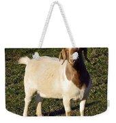 Boer Goat  Weekender Tote Bag
