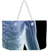 Bones Of The Shoulder And Chest Weekender Tote Bag