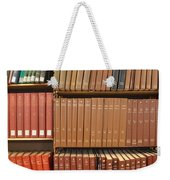 Bookshelves Weekender Tote Bag