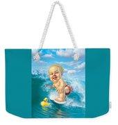 Born To Surf Weekender Tote Bag