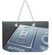 Boron Chemical Element Weekender Tote Bag