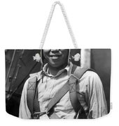 Boston Airport Chinese Aviator Weekender Tote Bag