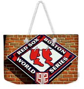 Boston Red Sox 1912 World Champions Weekender Tote Bag