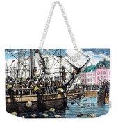 Boston Tea Party, 1773 Weekender Tote Bag by Granger