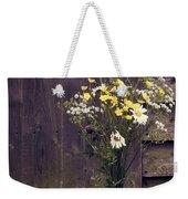 Bouquet Weekender Tote Bag by Svetlana Sewell