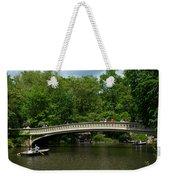 Bow Bridge Central Park Weekender Tote Bag