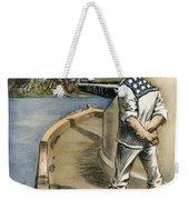 Boxer Rebellion Cartoon Weekender Tote Bag