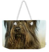 Briard Dog Weekender Tote Bag