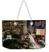 Brickell Ave Downtown Miami  Weekender Tote Bag