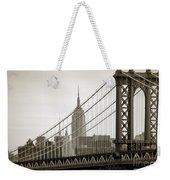 Bridge From The Bridge Weekender Tote Bag