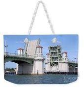 Bridge Of Lions St Augustine Florida Weekender Tote Bag