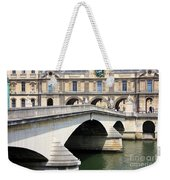 Bridge Over The Seine Weekender Tote Bag