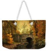 Bridge To Autumn Weekender Tote Bag