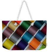 Bright Colored Spools Of Thread Weekender Tote Bag