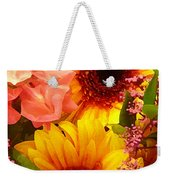 Bright Spring Flowers Weekender Tote Bag