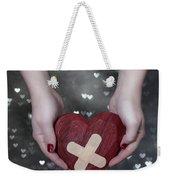 Broken Heart Weekender Tote Bag by Joana Kruse