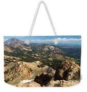 Brokeoff Mountain Scenery Weekender Tote Bag