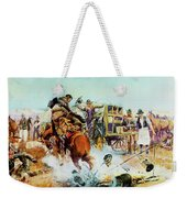 Bronc For Breakfast Weekender Tote Bag