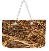Brown Reeds Weekender Tote Bag