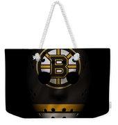 Bruins Jersey Mask Weekender Tote Bag