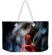 Buddha In Smoke Weekender Tote Bag