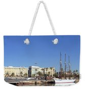 Buildings At The Waterfront, Columbus Weekender Tote Bag