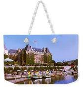 Buildings At The Waterfront, Empress Weekender Tote Bag