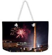 Bull Durham Fireworks Weekender Tote Bag