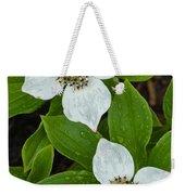 Bunchberry Weekender Tote Bag