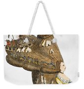 Bunker Hill: Cartoon, 1776 Weekender Tote Bag