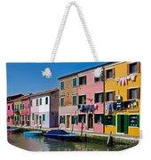 Burano, Venice Weekender Tote Bag