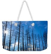 Burnt Pine Trees In A Forest, Grand Weekender Tote Bag