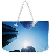 Business Skyscrapers Weekender Tote Bag by Michal Bednarek