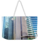 Business Skyscrapers Modern Architecture Weekender Tote Bag