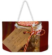 Butter Toffee Pecan Nuts With Himalania Salt Weekender Tote Bag