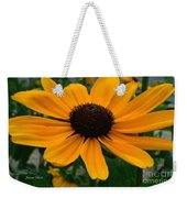 Butterscotch Daisy Weekender Tote Bag
