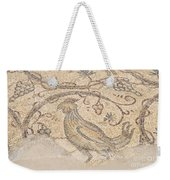 Byzantine Mosaic Depicting Animals And Hunting Scenes. Weekender Tote Bag