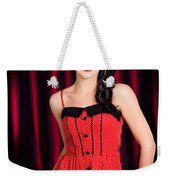 Cabaret Show Girl Performer In The Stage Spotlight Weekender Tote Bag