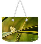 Cabbage Butterfly Weekender Tote Bag