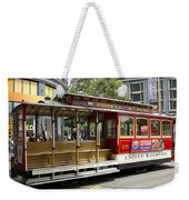 Cable Car On Turntable San Francisco Weekender Tote Bag