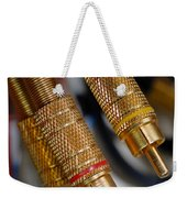Cables And Wires Weekender Tote Bag