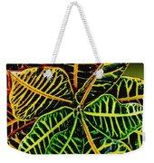 Cadiaeum Crotons Tropical Houseplant Shrub Weekender Tote Bag