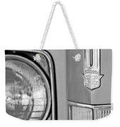 Cadillac Headlight Emblem Weekender Tote Bag
