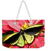 Cairns Birdwing Butterfly Weekender Tote Bag